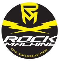 kulatá nálepka ROCK MACHINE Flash prům.7,5cm