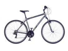 AUTHOR Compact 2016 matná šedá/zelená krosové kolo