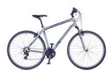 AUTHOR Horizon 2016 matná stříbrná/modrá krosové kolo
