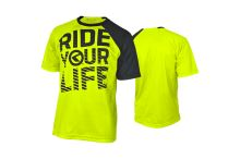 Enduro dres KELLYS RIDE YOUR LIFE krátky rukáv lime