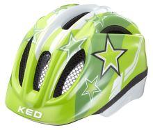 přilba KED Meggy Stars zelená