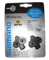 Kufry Shimano SPD SM-SH51 černé bez plechů