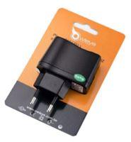 OWLEYE síťový adaptér 220V/USB