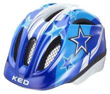 přilba KED Meggy Stars modrá