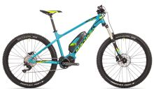 Kolo Rock Machine Ebike 27+ Blizz e50 petrol blue/radioactive yellow/black 2017