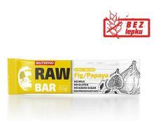 Tyčinka NUTREND RAW BAR, 50g, fík+papája
