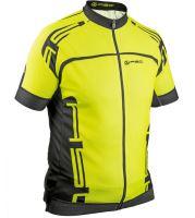 AUTHOR Dres Men Sport X4 k/r (14F žlutá-neonová/černá)
