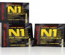Výživa NUTREND N1 PRE-WORKOUT, vzorek 17g grep