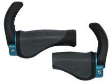 Gripy MAX1 ergonomické s rohy pro pravý GRIP SHIFT černo/šedé