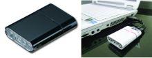 Přední světlo OWLEYE Highlux 5 s USB dobíjením černé