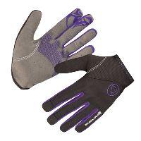 ENDURA Singletrack Lite rukavice Black/violet