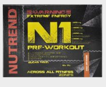 Výživa NUTREND N1 PRE-WORKOUT, vzorek 17g červený pomeranč
