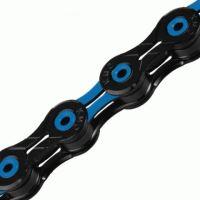 Řetěz KMC X-10 SL DLC modro/černý v krabičce