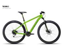 Kolo GHOST Tacana 3 green/darkgreen/black 2016