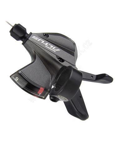 Řadící páčka Shimano ALTUS SL-M370-L pravá 9rychl. černá