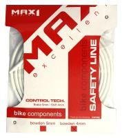 Bowden MAX1 4mm bílý balení 3m
