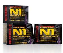 Výživa NUTREND N1 PRE-WORKOUT, vzorek 17g černý rybíz