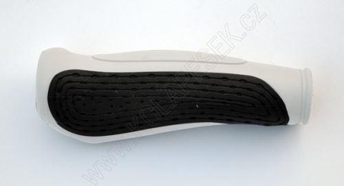 Gripy MAX1 gelové černo/bílé 135mm