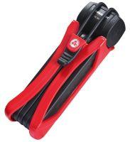 Zámek Trelock skládací Trigo červená FS 300/85