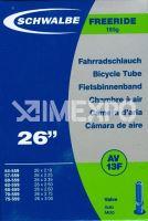 """Duše Schwalbe 26"""" AV13D 26x2.1-3.0"""
