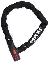 Řetězový zámek MAX1 900x8mm černý