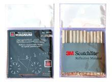 Bezpečnostní návleky na dráty - odrazka do výpletu 3M Scotchlite 1ks