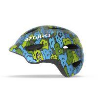 Přilba GIRO Scamp Blue/Green Creature Camo