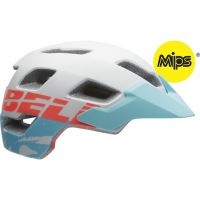 přilba BELL Rush MIPS-mat white/glacier blue