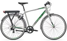 Rock Machine Ebike trekk Blackout EC20 light grey/black/green 2017