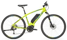 Rock Machine Ebike CrossRide e500 lime green/blue/black 2017