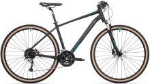 Kolo Rock Machine Crossride 700 mat black/petrol blue/dark grey
