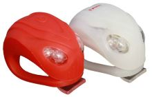 Blikačky MAX1 ALIEN 2ks P+Z bílá/červená