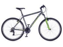 AUTHOR Profile 2016 matná šedá/zelená MTB XC 27 kolo