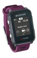 Chytré hodinky SIGMA iD FREE fialové