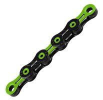 Řetěz KMC DLC 12 zeleno/černý v krabičce