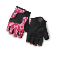 Rukavice GIRO BRAVO JR pink/black