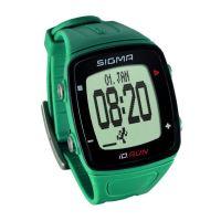 Pulsmetr SIGMA ID.Run zelený pine