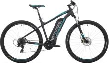 Elektrokolo Rock Machine Storm e60-29 + bat. 418 wh, mat black/silver/petrol blue 2018