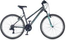 AUTHOR Unica 2018 šedá-matná/zelená dámské MTB kolo