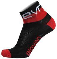 Ponožky Eleven HOWA EVN black/red