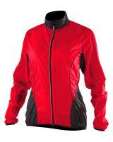 Cyklistická větrovka Kalas dámská SILUETE X červená