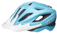 Přilba KED Street Junior MIPS M turquoise white matt 53-58 cm