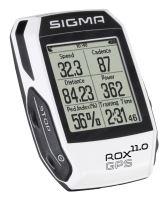 Computer SIGMA Rox 11.0 GPS bílý SET