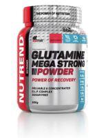 Výživa NUTREND GLUTAMINE MEGA STRONG POWER, 500g, hruška
