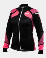 Cyklistický zateplený dres KALAS TITAN X8 dámský fluo/černý