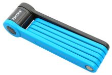 Skládací zámek MAX1 Bull 850mm modrý s držákem