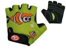 AUTHOR Rukavice Junior Fish (zelená/černá)