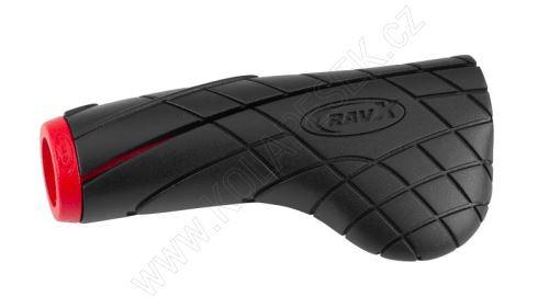 Gripy RAVX COMFY X červeno/černé