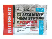 Výživa NUTREND GLUTAMINE MEGA STRONG POWDER, vzorek 10g