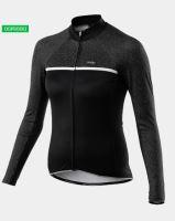 Cyklistický zateplený dres KALAS PASSION X7 dámský černý
